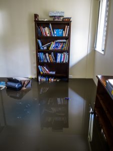 Flood in a Room - Water Damage Restoration Alpine