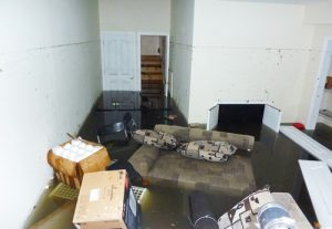 Flooded Basement - Flood Damage Tierrasanta