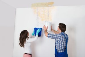 How can you tell if a wall has water damage